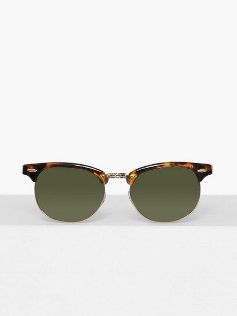 Topman Tortoiseshell Classsic Sunglasses Solbriller Brown - herre