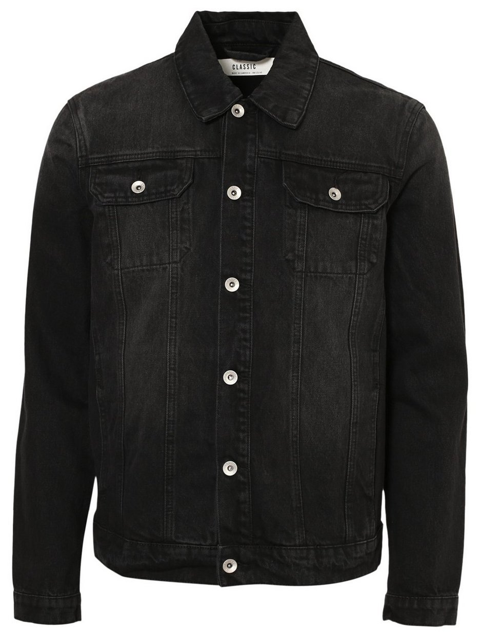 Black Denim Western Jacket