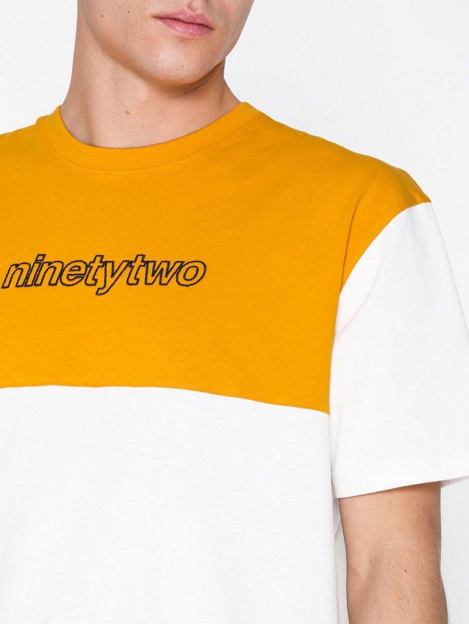 92 Print Panelled T-Shirt