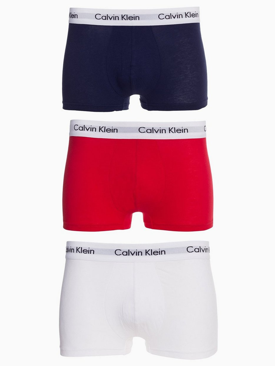 Cotton Stretch 3-Pack Low Rise Trunk