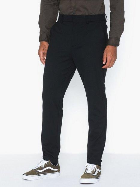 PLAÎN Ask 225 Bukser Black - herre