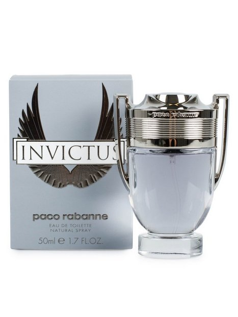 Paco Rabanne Invictus Edt 50ml Parfumer Transparent - herre