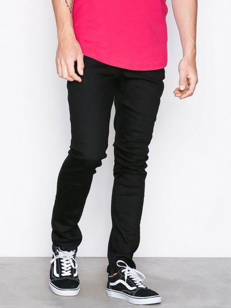 Cheap Monday Tight New Black Jeans Sort - herre