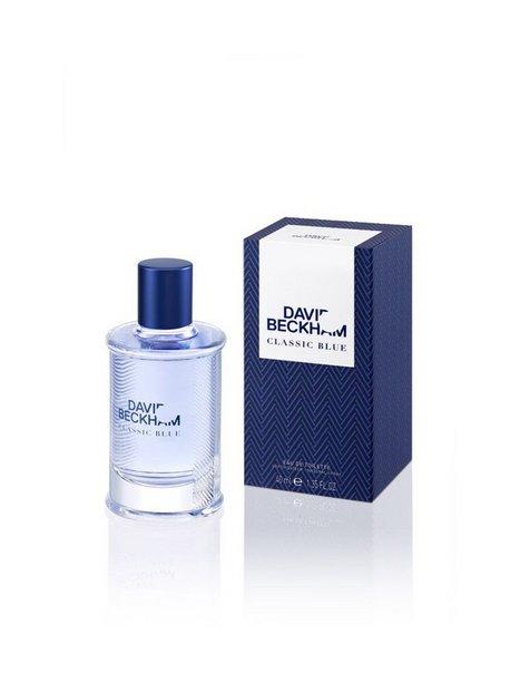 David Beckham Classic Blue Edt 40ml Parfume Transparent mand køb billigt