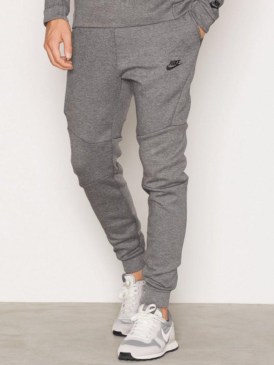 5f78ab6352cb Mens Tech Fleece Jogger - Nike Sportswear - Carbon Black - Pants - Clothing  - Men