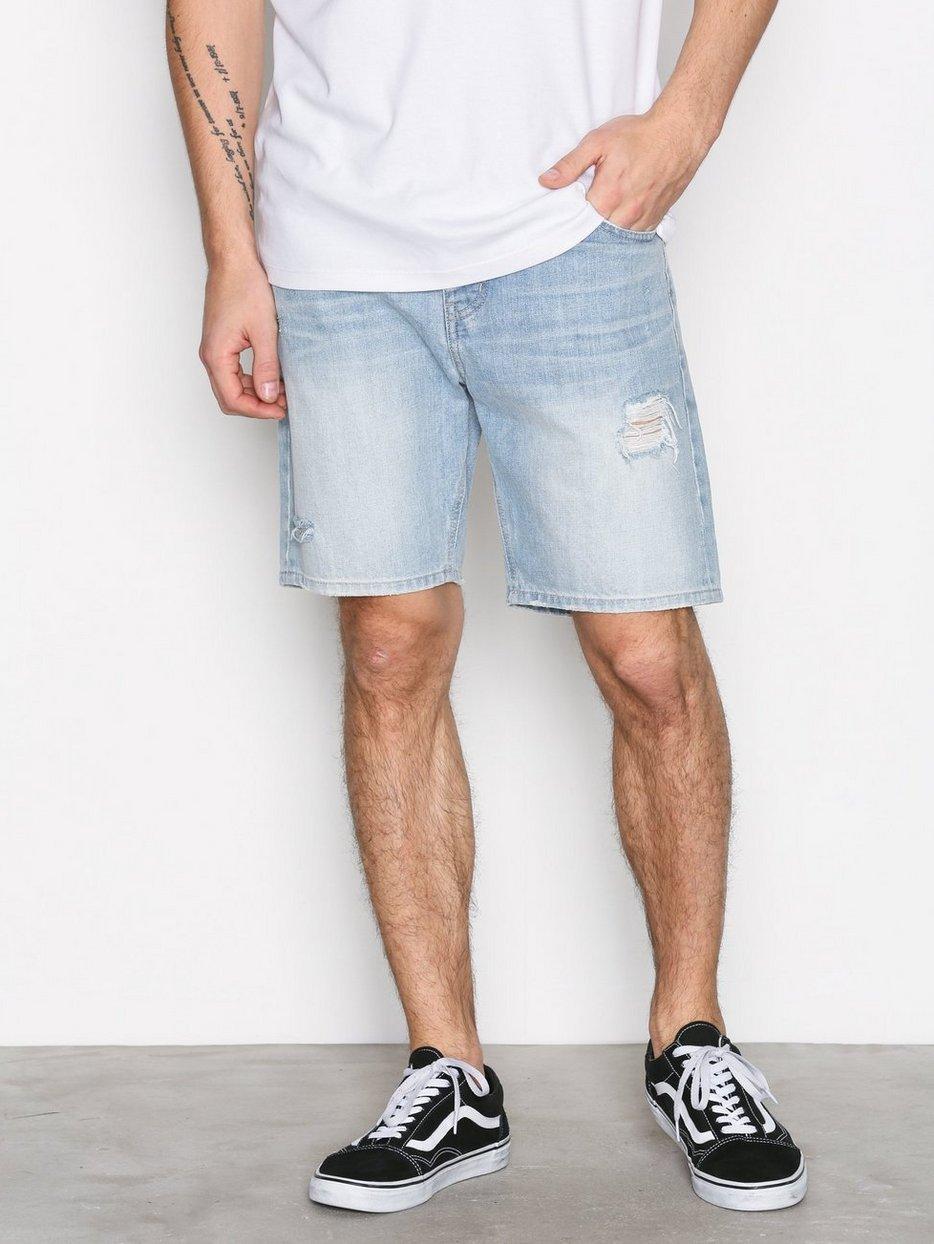 869c7f11da Bay Shorts - Dr Denim - Light Blue - Shorts - Clothing - Men ...