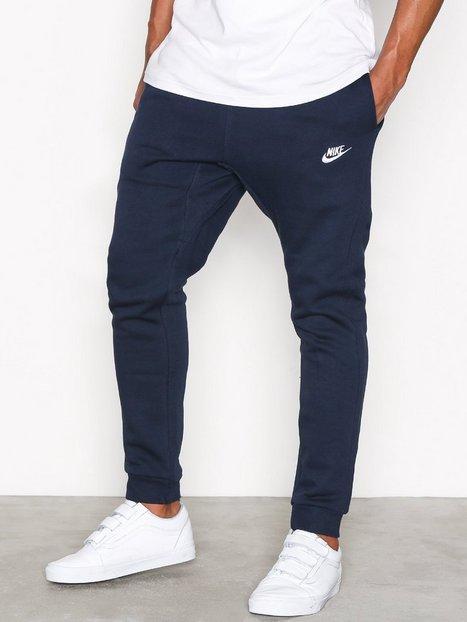 Nike Sportswear M Nsw Jggr Club Flc Bukser Blue White mand køb billigt