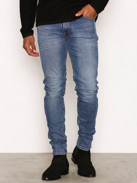 Dr Denim Clark Jeans Mid Blue - herre