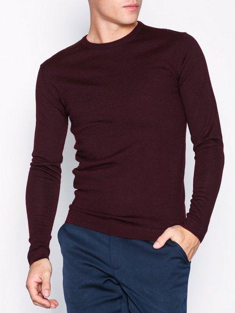 Tailored Originals Knit Fitz Trøjer Winetasting mand køb billigt