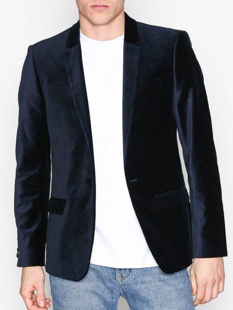 River Island Badger Move on Jacket Blazere jakkesæt Navy - herre