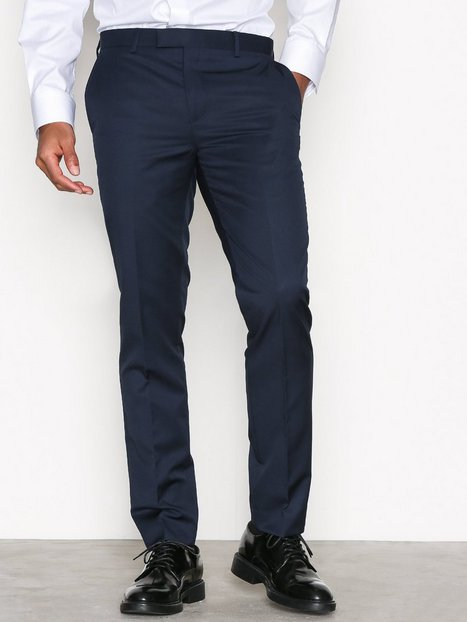River Island Apollo Suit Trousers Bukser Marine mand køb billigt