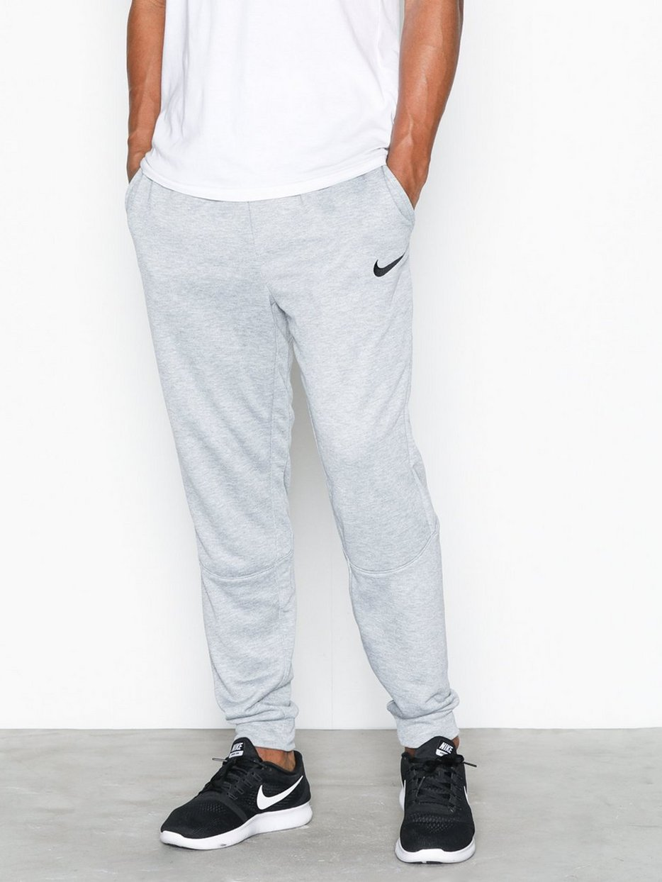 M Nk Dry Pant Taper Fleece - Nike - Dark Grey - Training Pants ... a76f6133936a