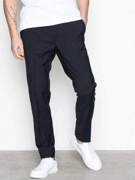 J Lindeberg Sasha DS Comfort Wool Bukser Marine mand køb billigt