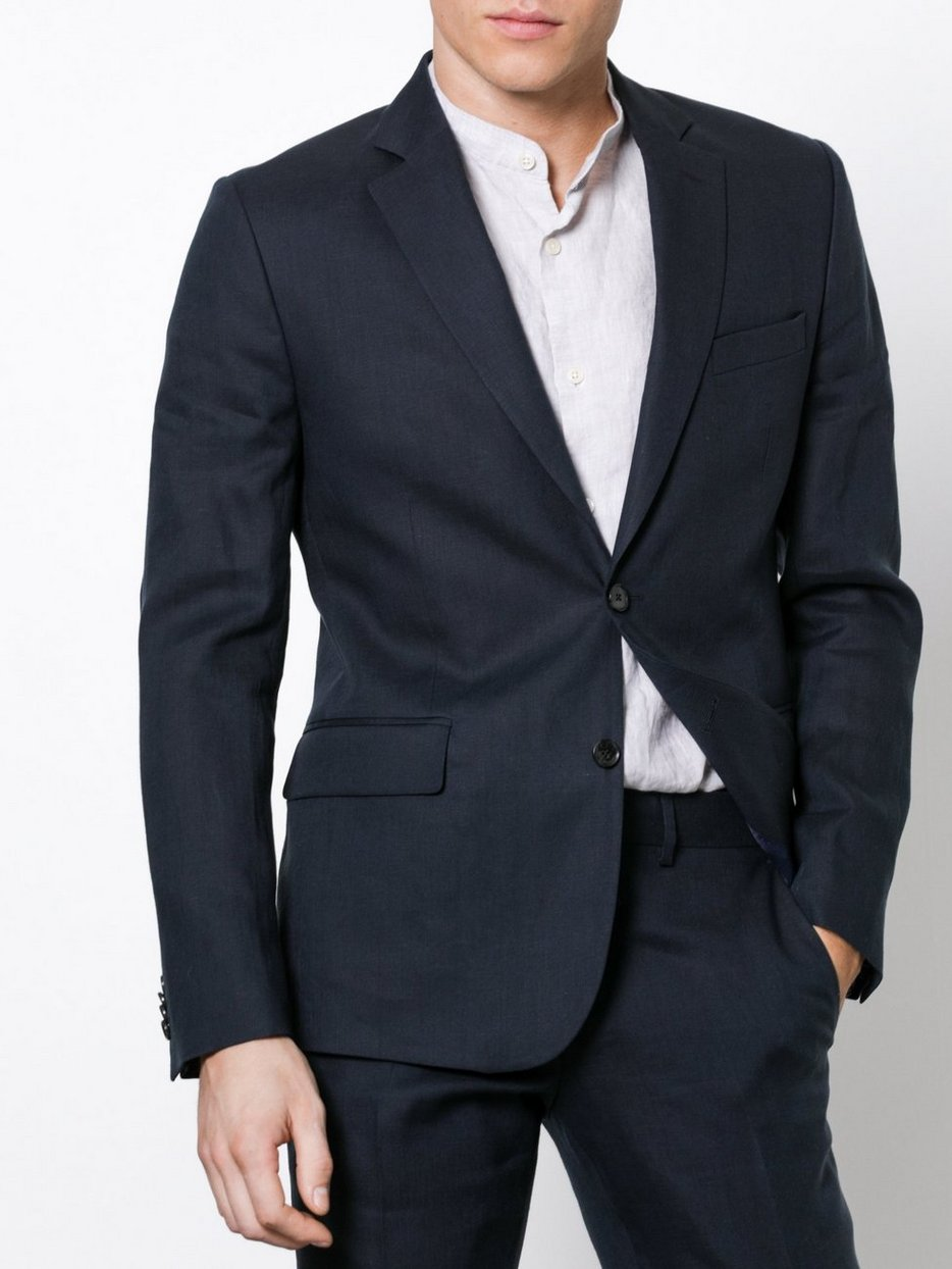 Navy Suits Linen Tech Lindeberg J Hopper Soft Blazersamp; nyOm80wPvN