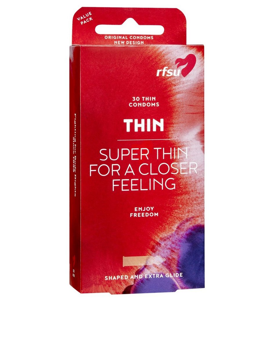 Thin Condoms 30-pack