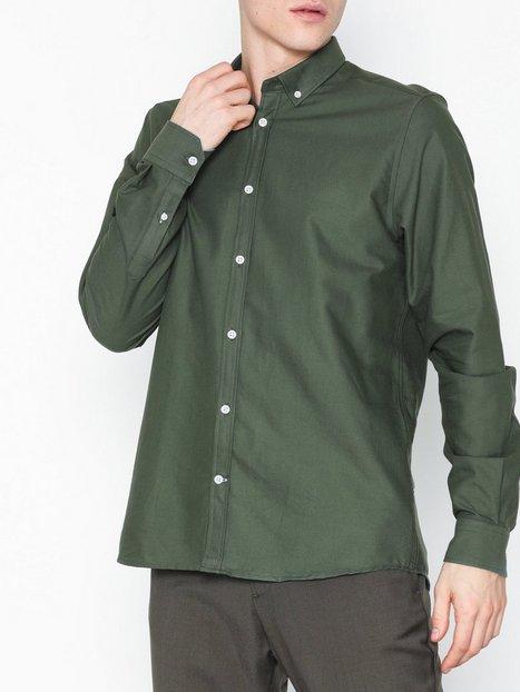 Tailored Originals Shirt New London Skjorter Thyme mand køb billigt