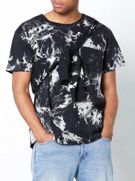 Dr Denim Archer Tee T shirts undertrøjer Sort - herre