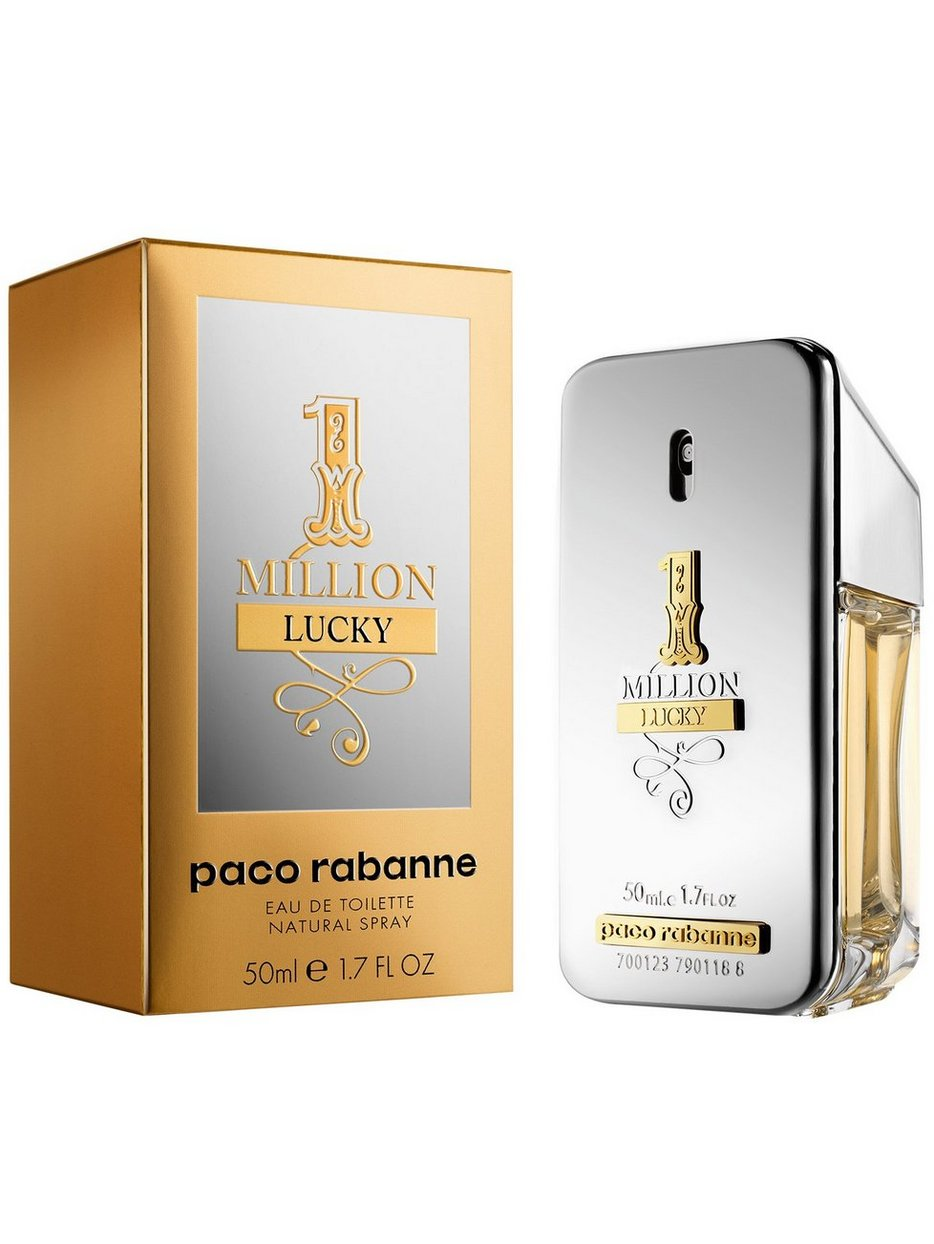 One Million Lucky Edt Paco Rabanne Transparant Parfums