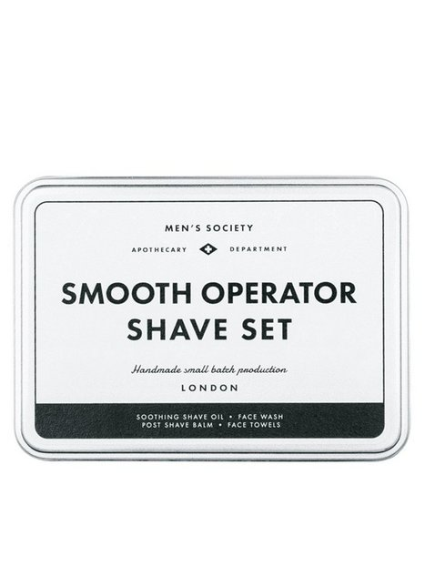 Men's Society Shave set Barbering Black - herre