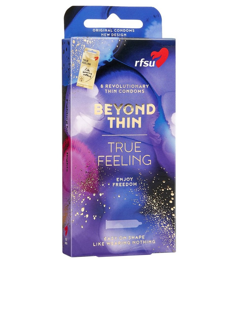 True Feeling Condoms 8-pack