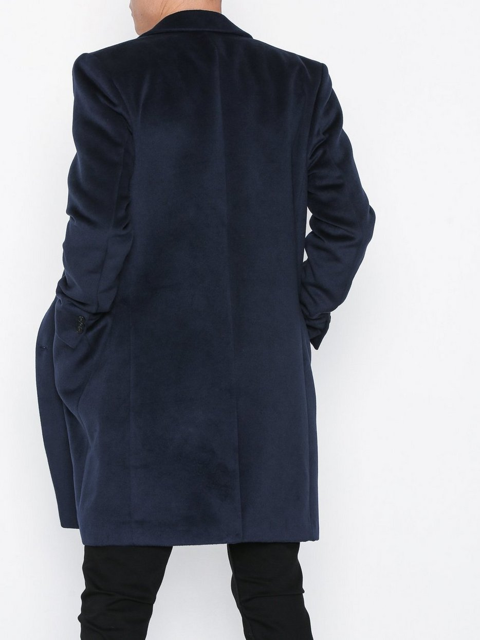 CAMEL GABLE OVERCOAT