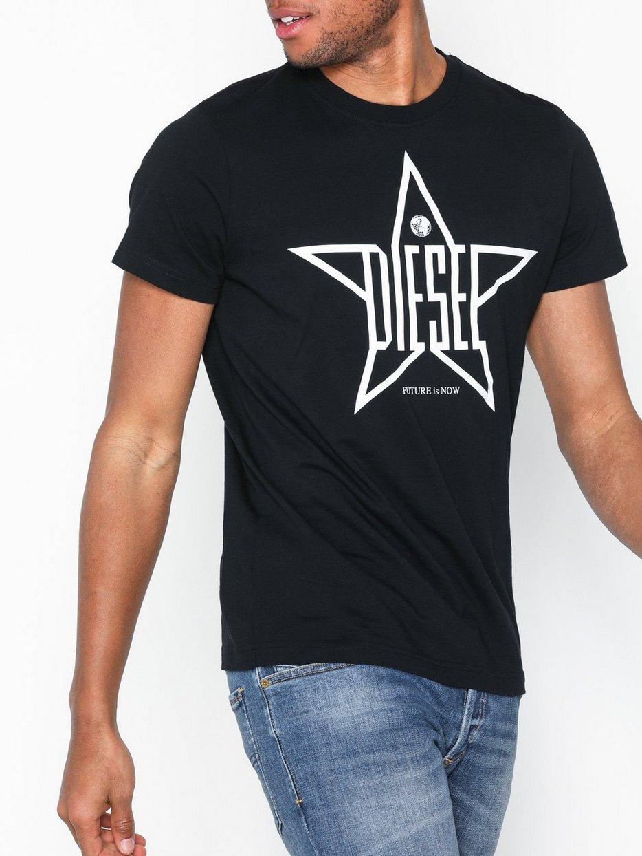 bf1facb88472d9 T - Diego - Yh T - Shirt - Diesel - Black - T - Shirts & Linens ...