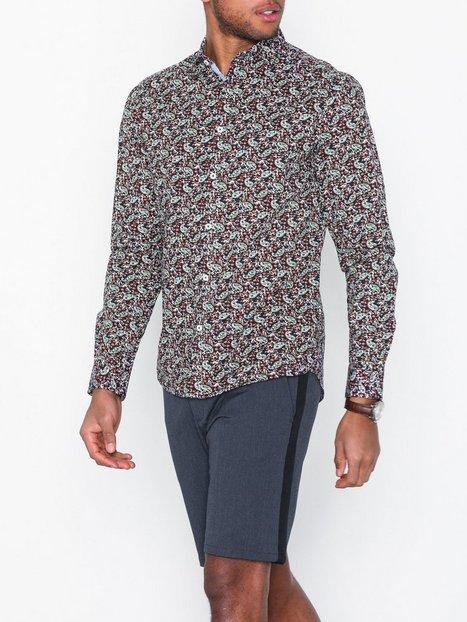 Tailored Originals Kelan LS Shirt Skjorter Insignia Blue - herre