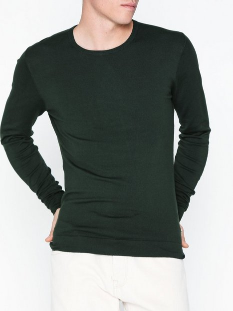 Tailored Originals Knit Mont O neck Trøjer Deep - herre