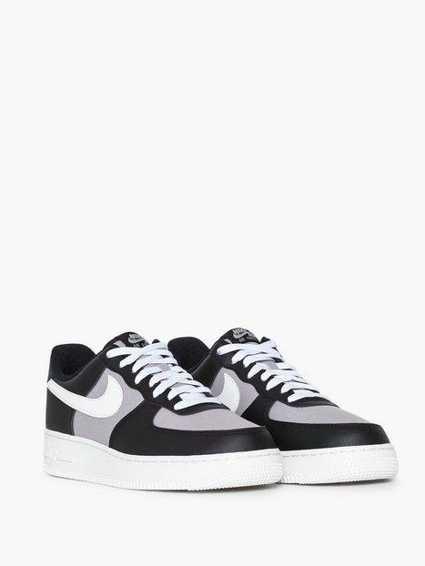 Nike Sportswear Air Force 1 '07 1 Sneakers Black - herre