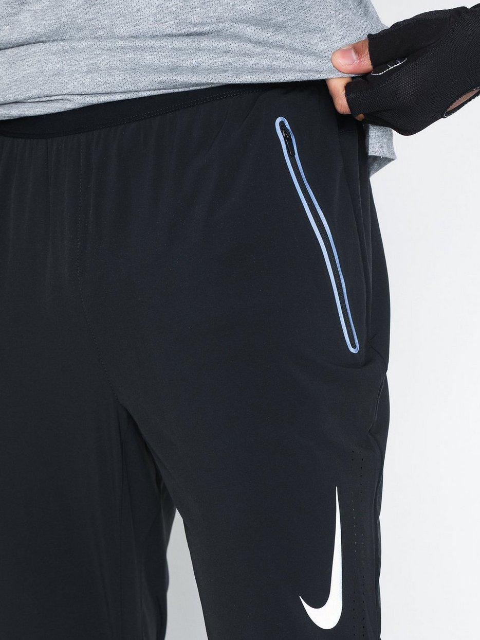 6d4df662141ec M Nk Swift Run Pant - Nike - Black - Training Pants - Sports Fashion ...