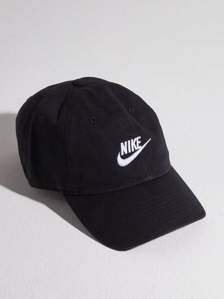 42ff961c7 U Nsw H86 Cap Futura Wash - Nike Sportswear - Black - Caps ...