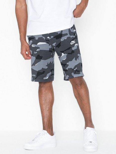 Nike Sportswear M Nsw Club Camo Short Bb Shorts Grey - herre