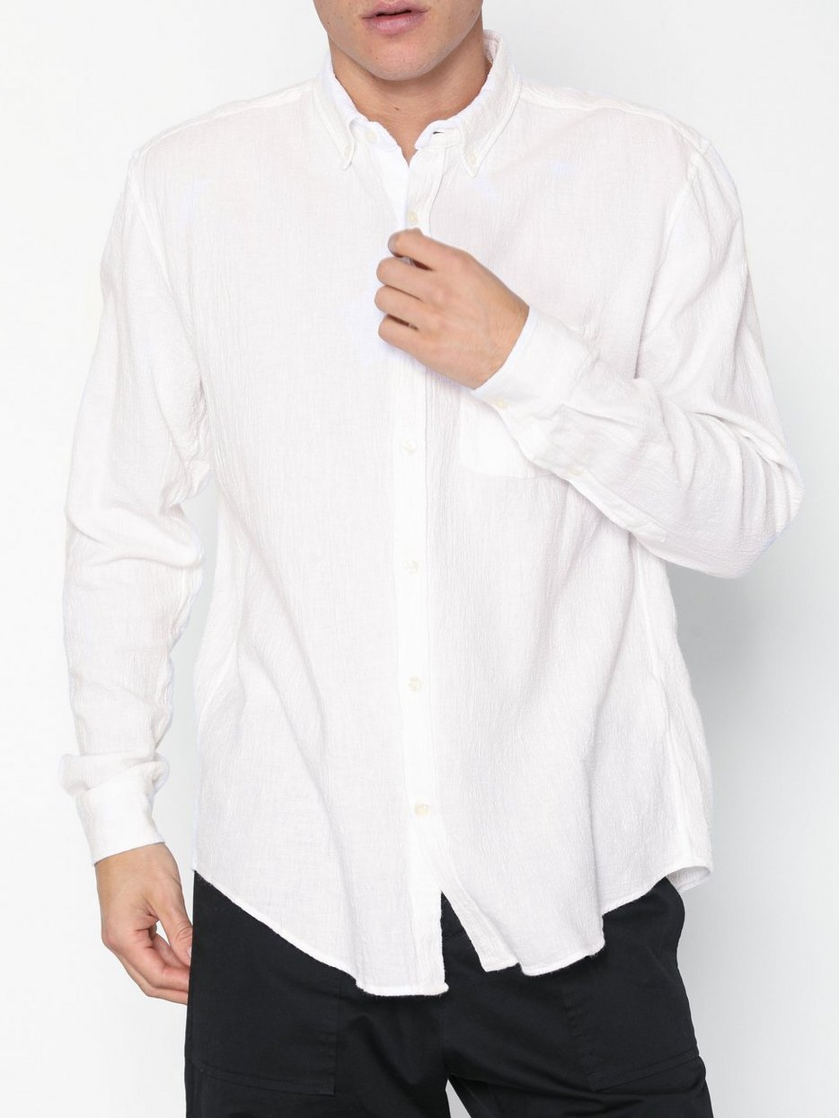 f0704f806371 Needs Crepe Shirt - L'homme Rouge - White - Shirts (Men) - Clothing ...