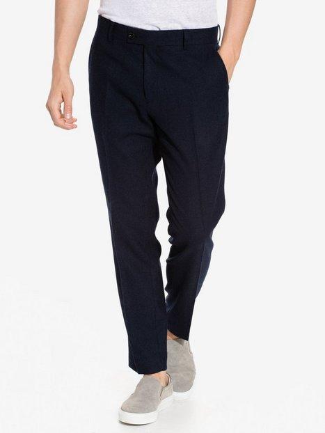 Tailored By Solid Denver Pants Bukser Black mand køb billigt