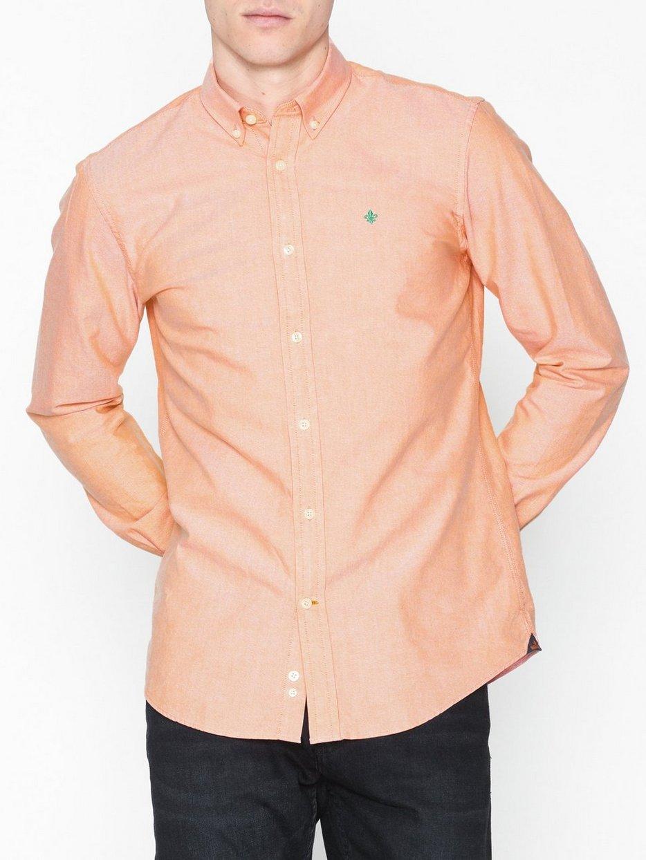 4bd0167c Douglas Shirt - Morris - Orange - Shirts (Men) - Clothing - Men ...