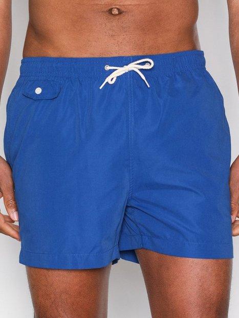 Morris Solid Bathing Trunks Badetøj Blue - herre