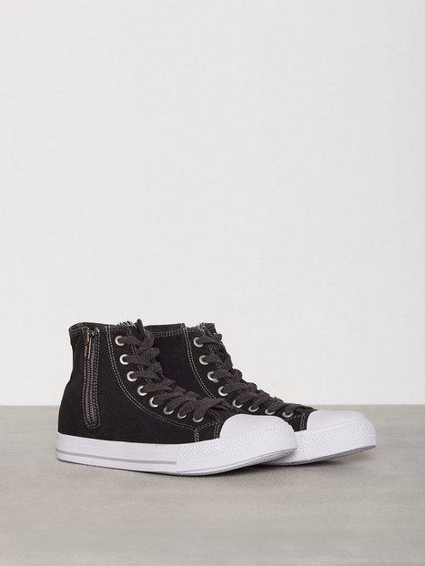River Island Shearer Laundererd Demi Sneakers tekstilsko Washed Black mand køb billigt