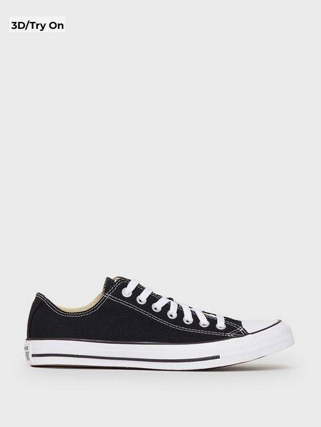 Converse All Star Canvas Ox Sneakers tekstilsko Sort - herre