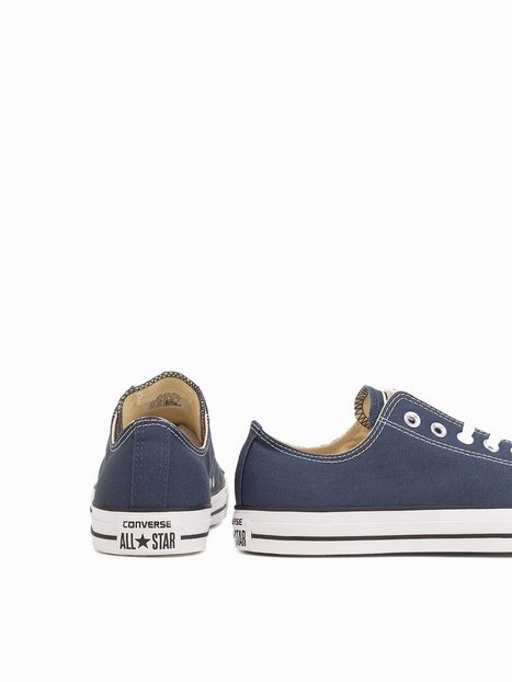 Converse All Star Canvas Ox Sneakers tekstilsko Navy - herre