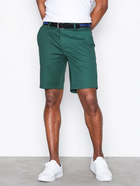River Island Brando Green Shorts Green - herre