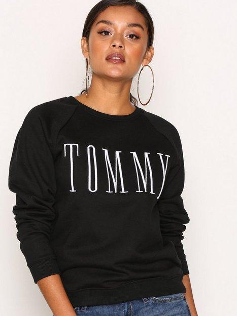 Billede af Tommy Jeans THDW Basic Graphic Knit Sweatshirt Black