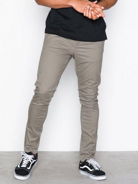 New Look Skinny Stretch Chino Trs Bukser Kul mand køb billigt