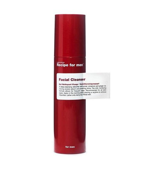 Recipe For Men Facial Cleanser 100 ml Ansigtspleje Transparent - herre