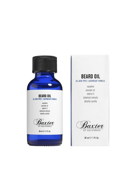 Baxter Of California Beard Grooming Oil 30 ml Barbering Transparent - herre