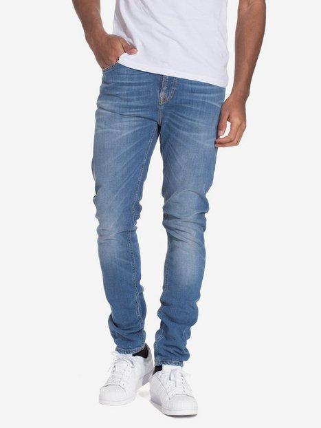 Nudie Jeans Pipe Led Crispy Pepper Jeans Denim mand køb billigt