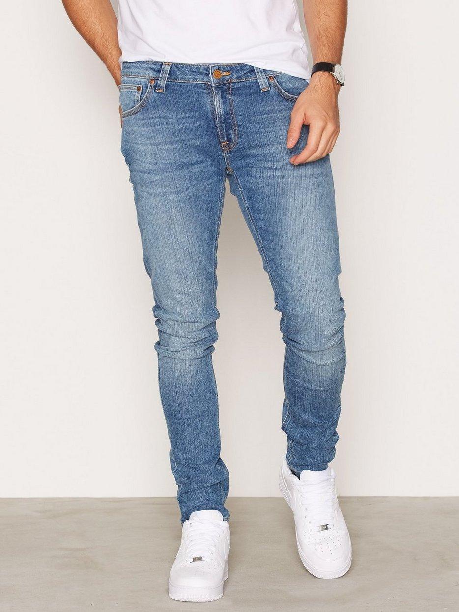 skinny lin indigo legend nudie jeans indigo jeans clothing men. Black Bedroom Furniture Sets. Home Design Ideas