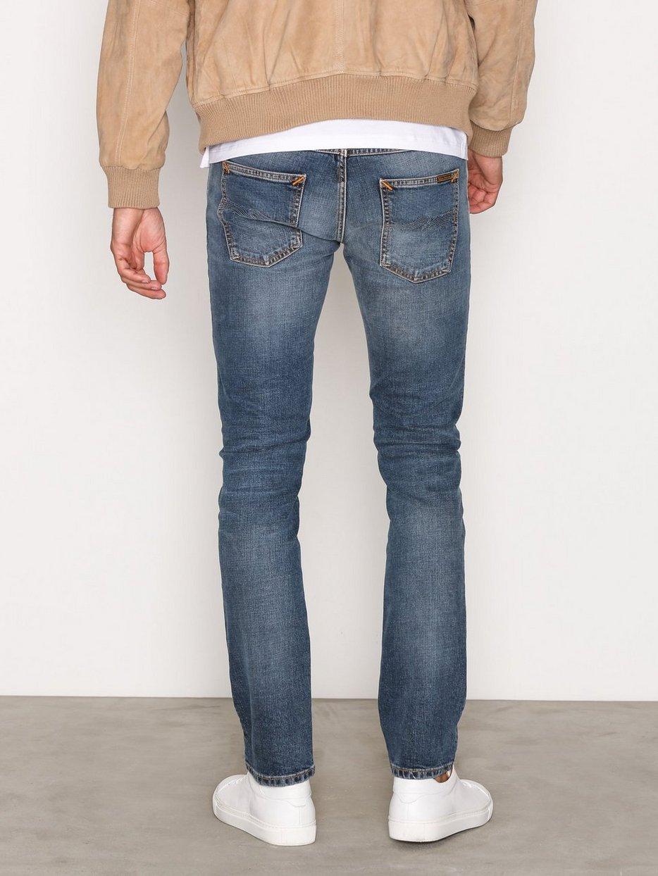grim tim blue halo nudie jeans blue jeans clothing. Black Bedroom Furniture Sets. Home Design Ideas