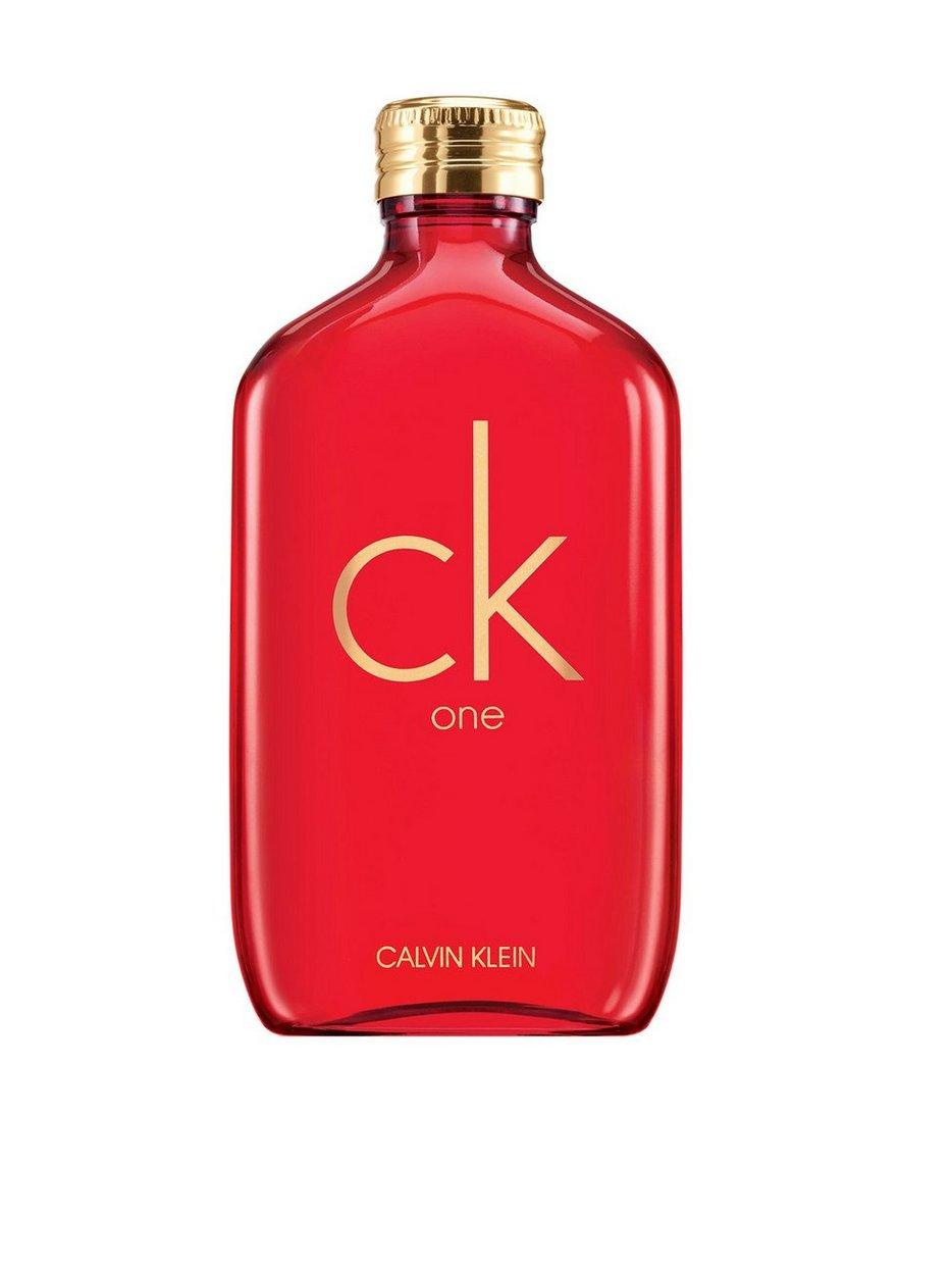 Ck One Red Edt 100 Ml Calvin Klein Transparent Perfume