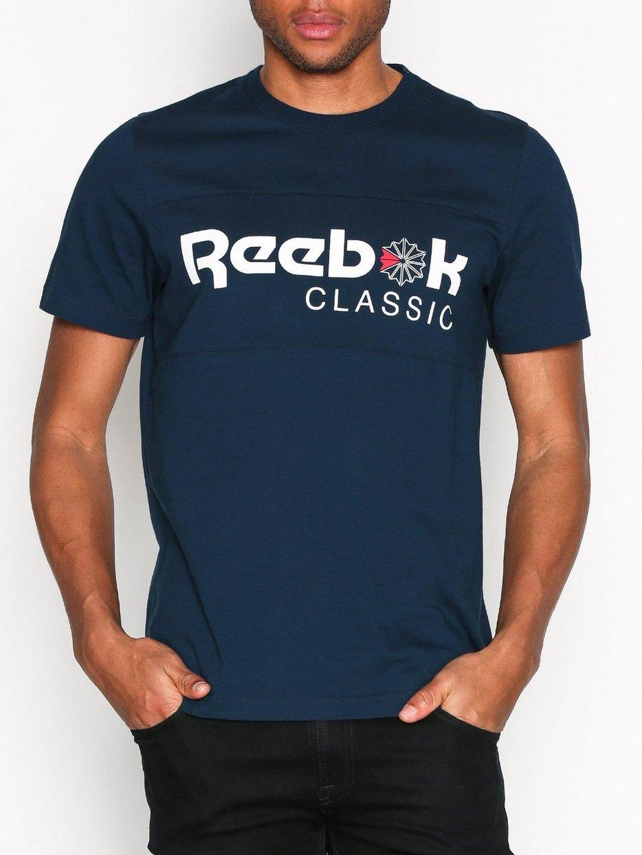 F franchise iconic tee reebok classics navy t for T shirt printing franchise