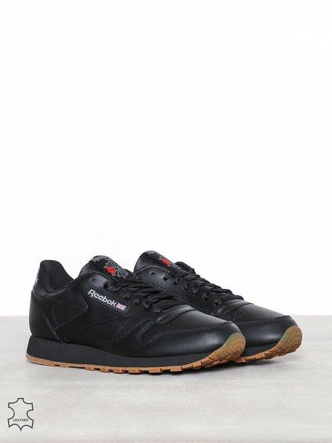 Reebok Classics Cl Lthr Sneakers tekstilsko Black - herre